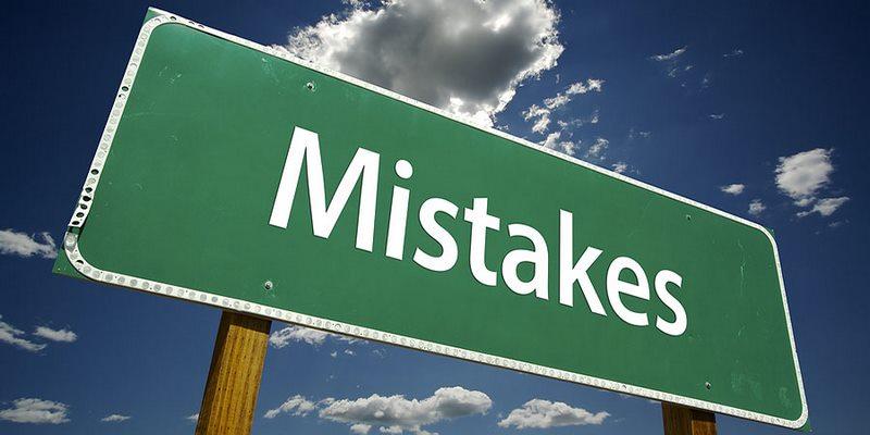 اشتباهات فروشندگی(نپرداختن با تمام وجود به کار )