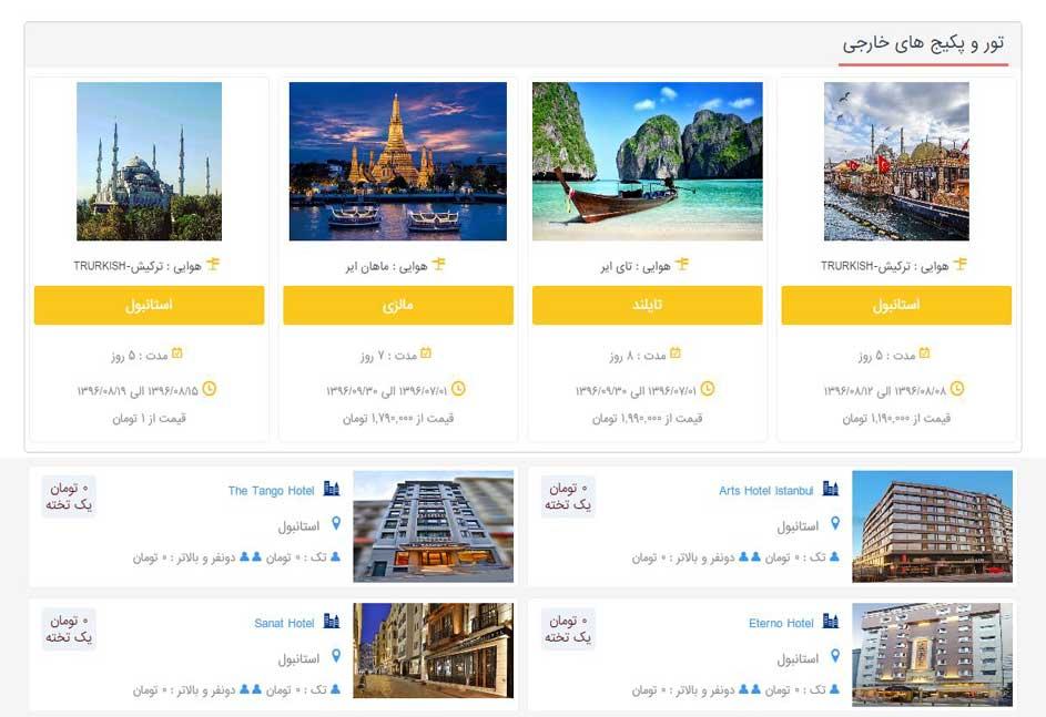 آژانس مسافرتی نفیس پرواز ایرانیان